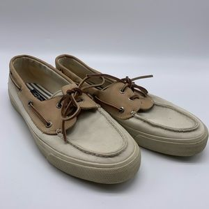 Sperry Top Sider Bahama Boat Shoe Sneaker Sz 9M